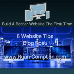 Six website Design Tips
